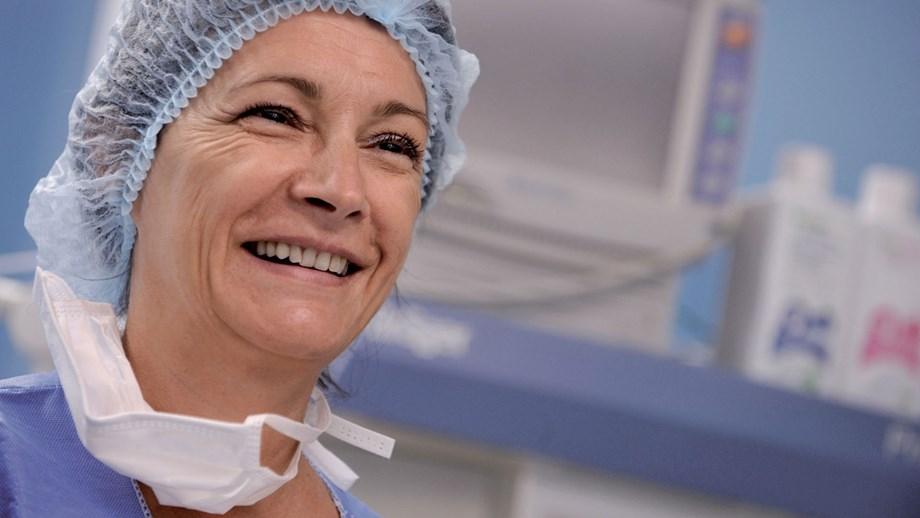 Cathérine Laurent, OR nurse